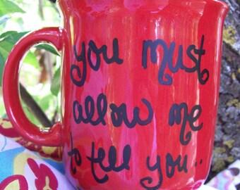 Mr. Darcy proposal mug-Cherry Red-10 Oz-Fun-RTS