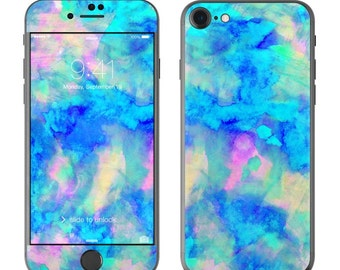 Electrify Ice Blue by Amy Sia - iPhone 7/7 Plus Skin - Sticker Decal