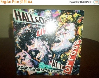 Save 30% Today 1985 Vinyl LP Record Daryl Hall & John Oates Live At the Apollo Excellent Condition 4828
