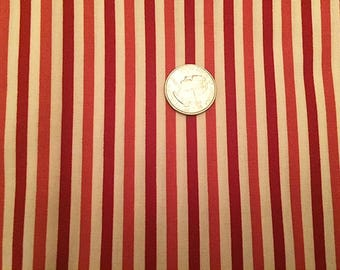 Candy Stripe Confection Red and White Stripe Sugar Plum Valentine from LakeHouse Dry goods