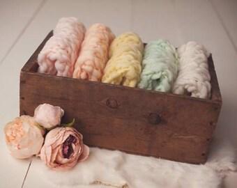 Newborn knitted blanket.. newborn prop... newborn photography prop...mini blanket...