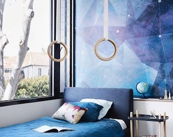 Constellation Mural - Large Space Wallpaper, Graphic Illustration