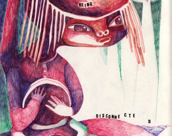 The Desire / Art print / llustration / Hallimash