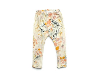 baby girl clothes - baby leggings - toddler leggings - toddler girl clothes - flower leggings - baby girl outfits - girl leggings