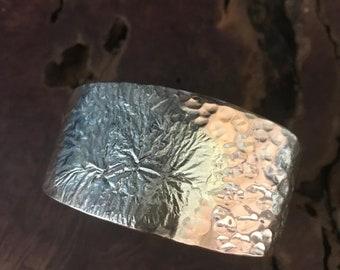 Fiori - Copper &  Sterling-Silver Bracelet - A beautiful bouquet.