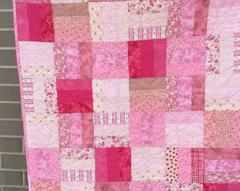 Handmade baby/ toddler quilt or playmat