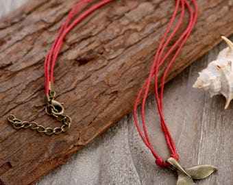 Cord Necklace // String Necklace // Dainty Necklace // Cotton Necklace // Nautical Necklace // Sailor Necklace