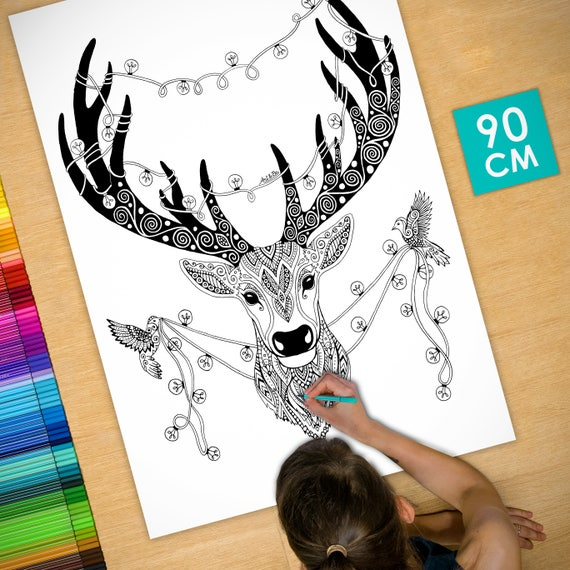 Coloring poster (35 inche...