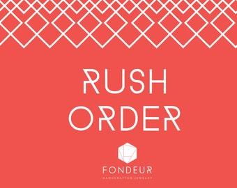 RUSH ORDER - Add On
