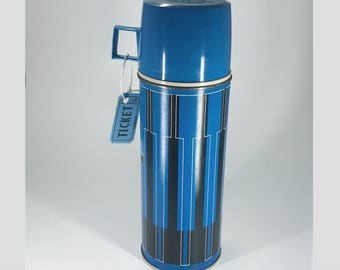 King-Seely Blue Thermos