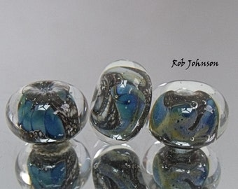 Mango Lakes, Lampwork Beads, SRA, UK
