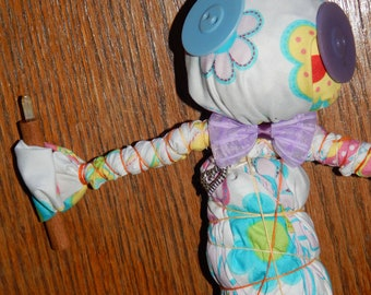 Twiddle Fairy Juju Doll - Voodoo Dolls - Voodoo Fetch - Vodou - Folk Art Doll - Voodoo Supplies - Occult Art - Witchcraft Doll - Juju Doll