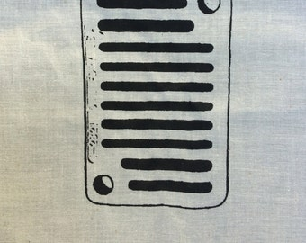 7 - Small Silk Screen - Peek-A-Boo