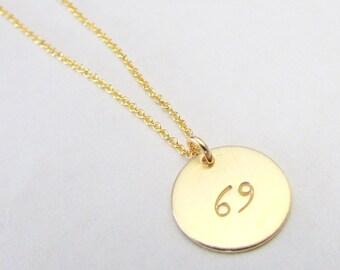 Gold Zodiac Necklace | Zodiac Charm Necklace | Gold Zodiac Jewelry | Zodiac Sign Charm | Simple Zodiac Sign Necklace | Gold Filled Charm