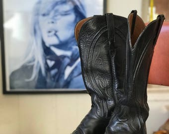 Lucchese Ladies Cowboy Boots