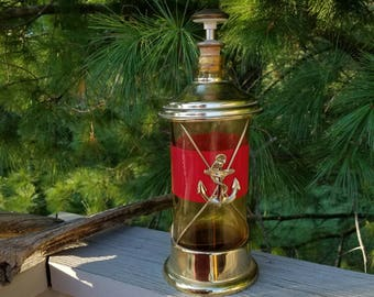 Musical Decanter with Nautical Look