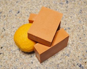 Florida Oranges Soap, Handmade Bar Soap