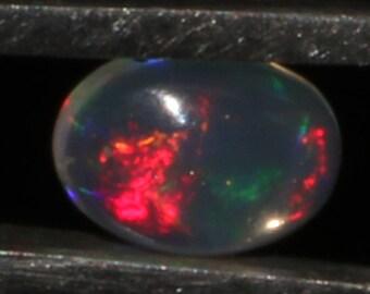 0.45 CTS Natural Ethiopian Opal Canochon Welo Fire Opal loose Gemstone Cabochon Fire Opal Good Quality Opal ##55