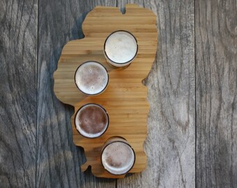 Beer Gift - Craft Beer Gift - Lake Tahoe Beer Flight - All States Available - Lake Tahoe Gift