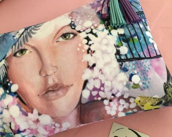the 'good things' art studio clutch