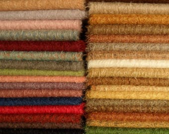 MV. PICK you own 5 colors of SCHULTE mohair, pile 15 mm,  5x 25cm/35cm =about 5 x 1/16