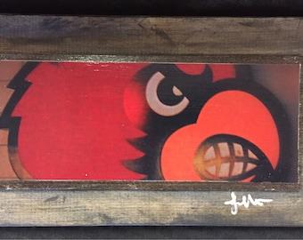 Cardinal Louisville, Kentucky, Art Photography, Framed Wall Art