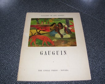 Gauguin Gallery of Art Series Gauguin 10 Prints/Plates Uffici Press Italy HC Vintage