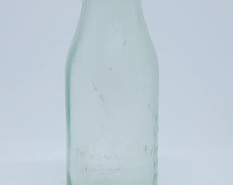 Antique Thomas Edison Battery Oil Bottle, 1915