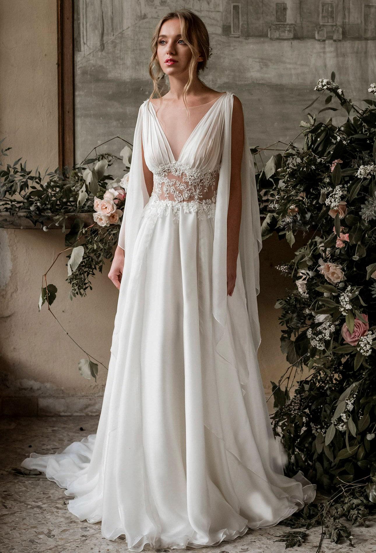 Griechischen Hochzeit griechischen Brautkleid griechischen