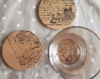Under-cork Cups-set 4 pcs