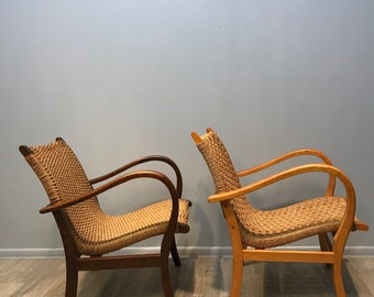 A Pair Of German Armchairs From The 1960s
