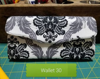 Black and White Wallet