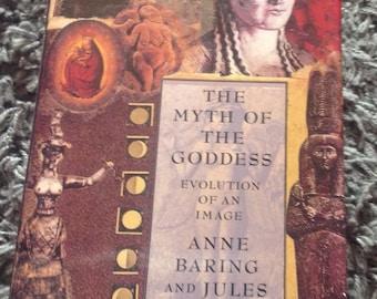 Vintage Goddess Book , The Myth of the Goddess Book , Female Spirituality Book