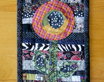 Checkered Flower Mini Quilt