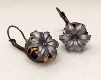 Bullet Earrings - 9mm Federal HST - ONLY for the BOLD! - Antique or Silver Backing - Many More Bullet Options Available!
