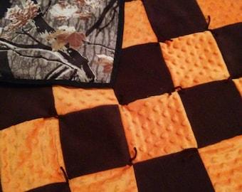 Camo quilt toddler or lap quilt