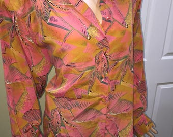 Tropical Blouse