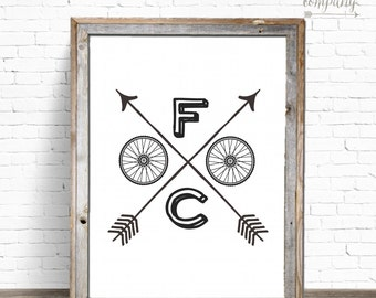 FOCO | Fort Collins Printable Sign