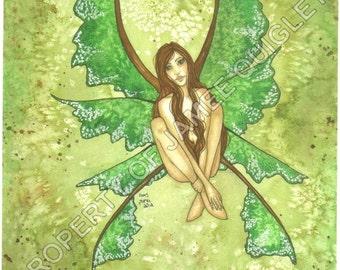 "Roots, Fairy PRINT, 8.5x11"""