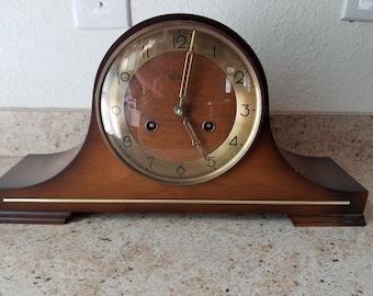 1960s Linden Mantle clock