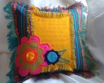 Scrpiture Pillow Matt. 19:14