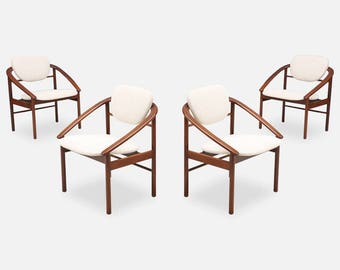 Beau John Keal Dining Chairs For Brown Saltman