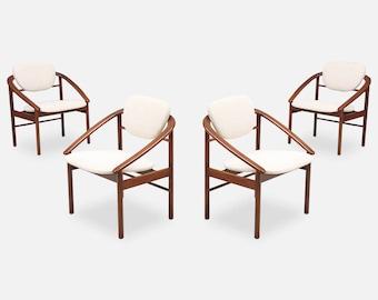 Beau John Keal Dining Chairs For Brown Saltman