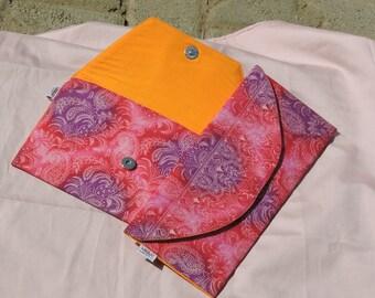 Slim Ankara Clutch bag