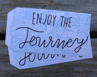 Enjoy the Journey Gift Tag