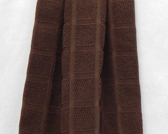 Chocolate Brown Extra towels for towel toppers