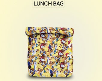 Beauty and the Beast lunch bag for women lunch bag for men lunch bag for kids