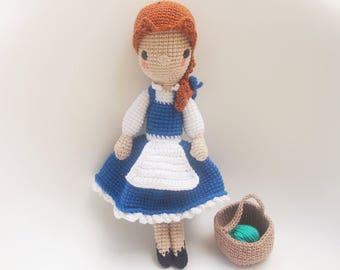 Peasant Belle Crochet pattern/amigurumi