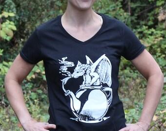 Teapot Dragon T-shirt Women's Relaxed Fit