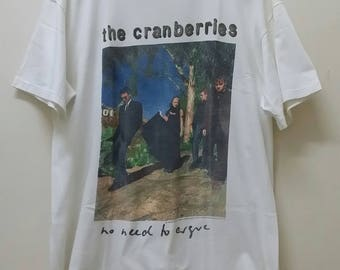 Free Shipping!!! RIP Sales. Sadness Sale. Low Price. RARE. The Cranberries No Need To Argue World Tour '95 (Dolores)